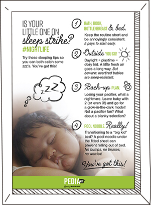 Is your little one on sleep strike?